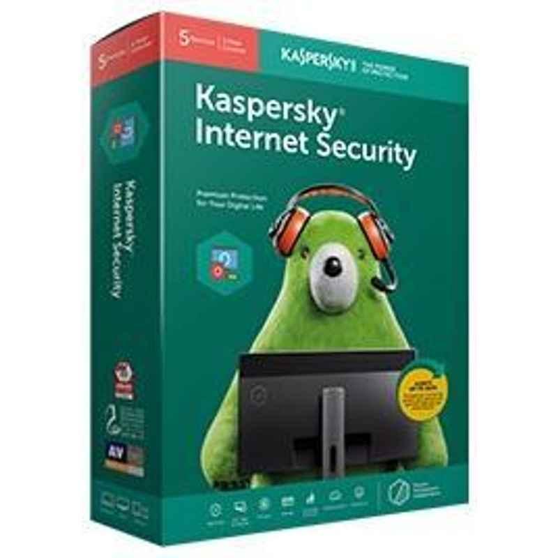 KASPERSKY INTERNET SECURITY 5 USER ANTIVIRUS PREPAYMENT ONLY