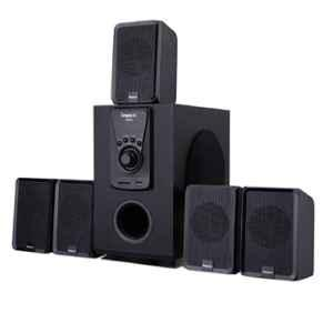 Impex Santo 45W 5.1 Channel Black Portable Multimedia Bluetooth Speaker, FG0026