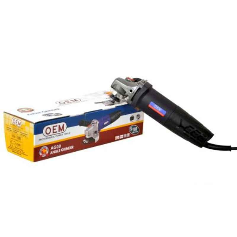 OEM AG09 4 inch 780W Angle Grinder with Back Switch
