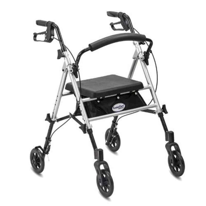 Kosmocare 14 inch Silver Premium Imported Folding Walker, RX403