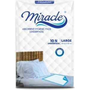 Miracle 10 Pcs 90x60cm Underpads, MU-1