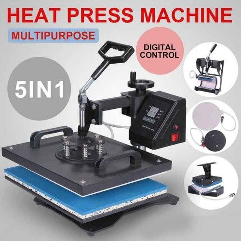 T-shirts Combo Heat press Machine, Capacity: 50-100 Pieces/Hour, 320 V