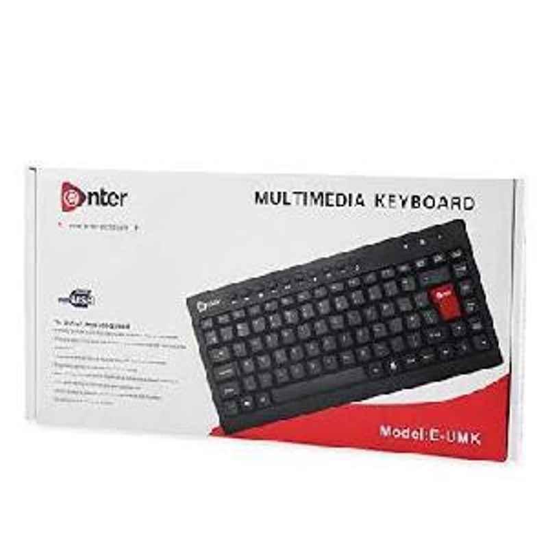 Enter Multimedia Usb Mini Keyboard