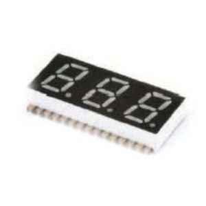 Oasistek 100 Pcs 0.30 inch Ultra Red Triple Digit SMD Display Module Set, TOT-F3301
