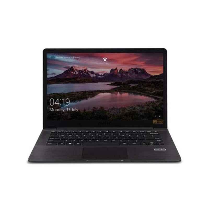 AVITA PURA AMD Ryzen 5 3500U/8GB DDR4/512GB HDD & 14 inch Display Metallic Black Laptop with 3 in 1 Grey Sleeve, NS14A6INV561-MEGYB