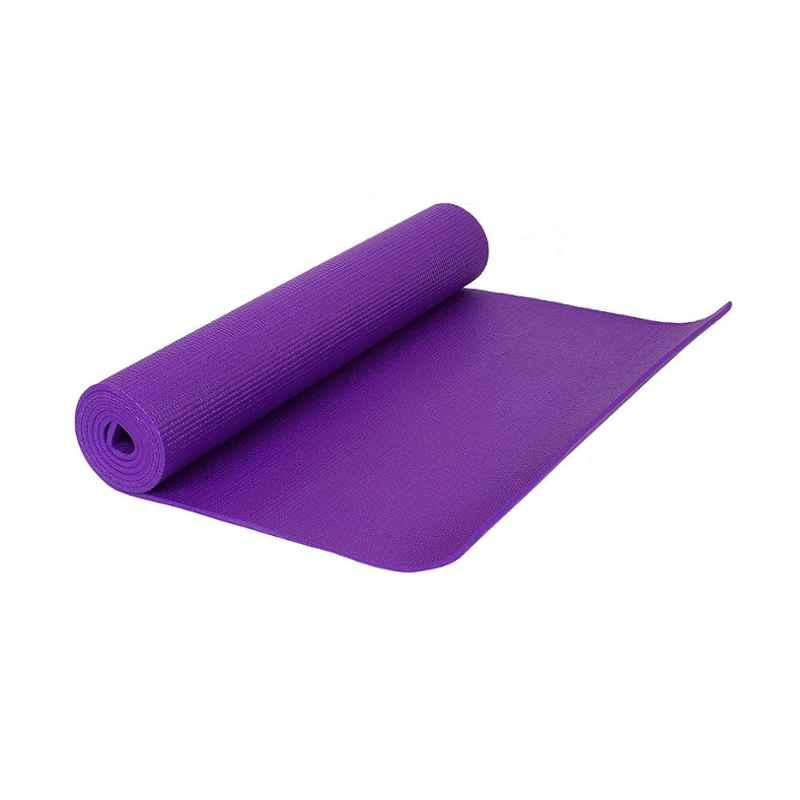 Strauss 1730x610x6mm Purple PVC Yoga Mat with Cover, ST-1407