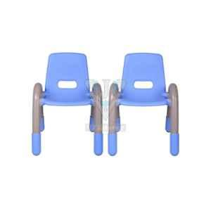 VJ Interior Blue Volver Engineering Plastic Kids Chair, VJ-233