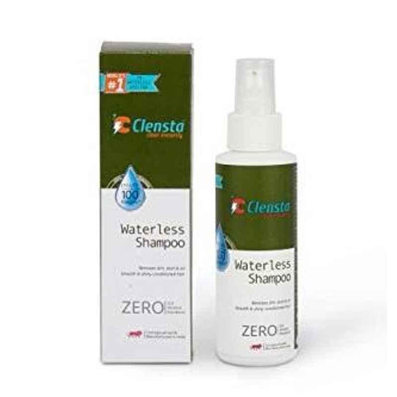 Clensta 165 g Antiseptic Waterless Shampoo, CIWS001