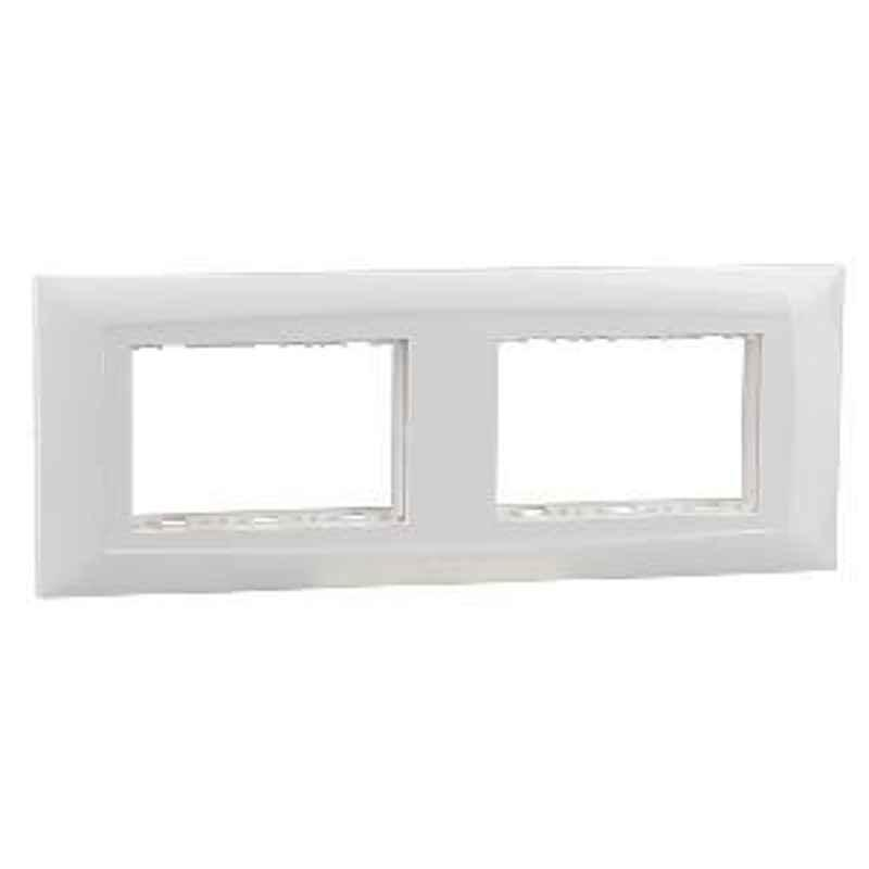Legrand 6 Module Plate With Frame 673496