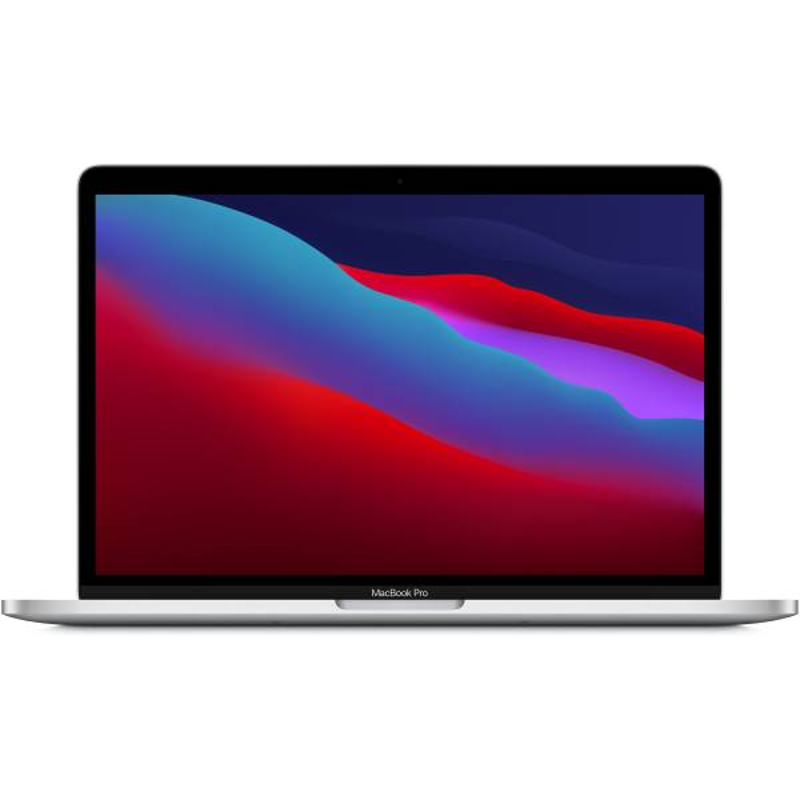 Apple 13-inch MacBook Pro: Apple M1 chip with 8 core CPU and 8 core GPU, 512GB SSD-Silver, MYDC2HN/A