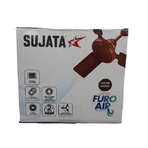 Sujata Furo Air 72W Brown Ceiling Fan, Sweep: 1200 mm