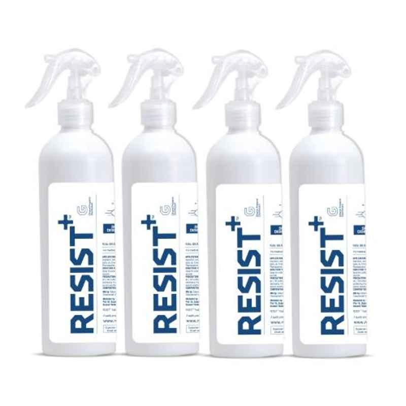 Resist Plus 500ml Ethanol-Propanol Surface Disinfectant (Pack of 4)
