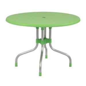Supreme Cherry Parrot Green Foldable Round Table