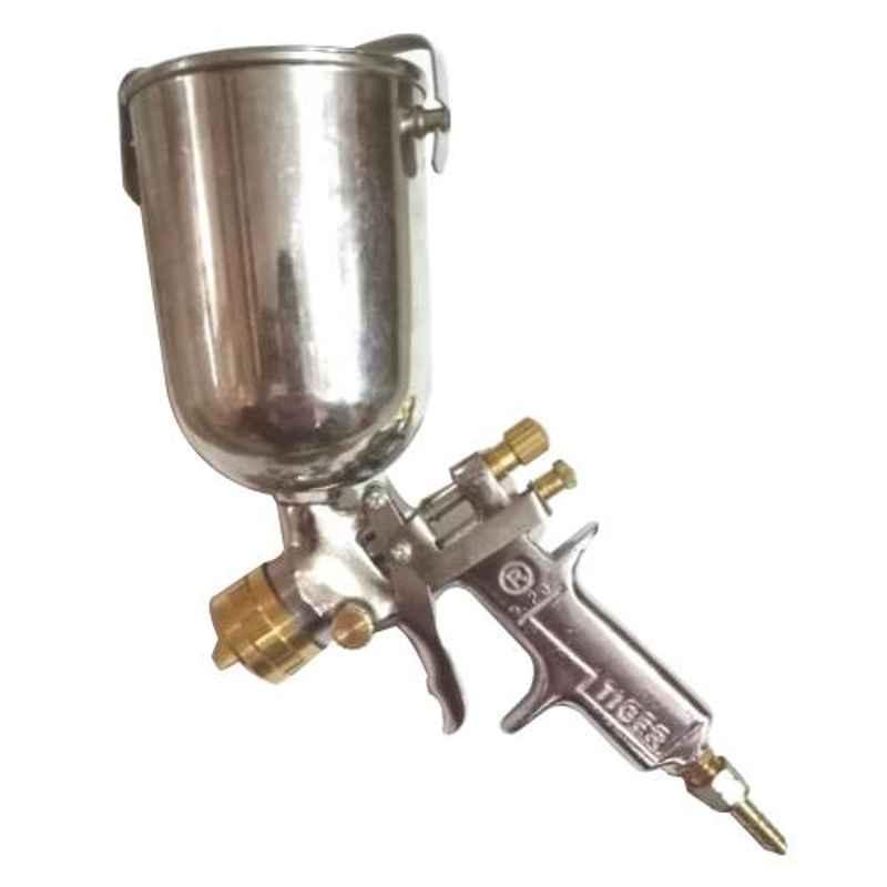 Lovely Tiger 1/2 Pint 236ml Mild Steel Paint Spray Gun with Heavy Duty Bucket