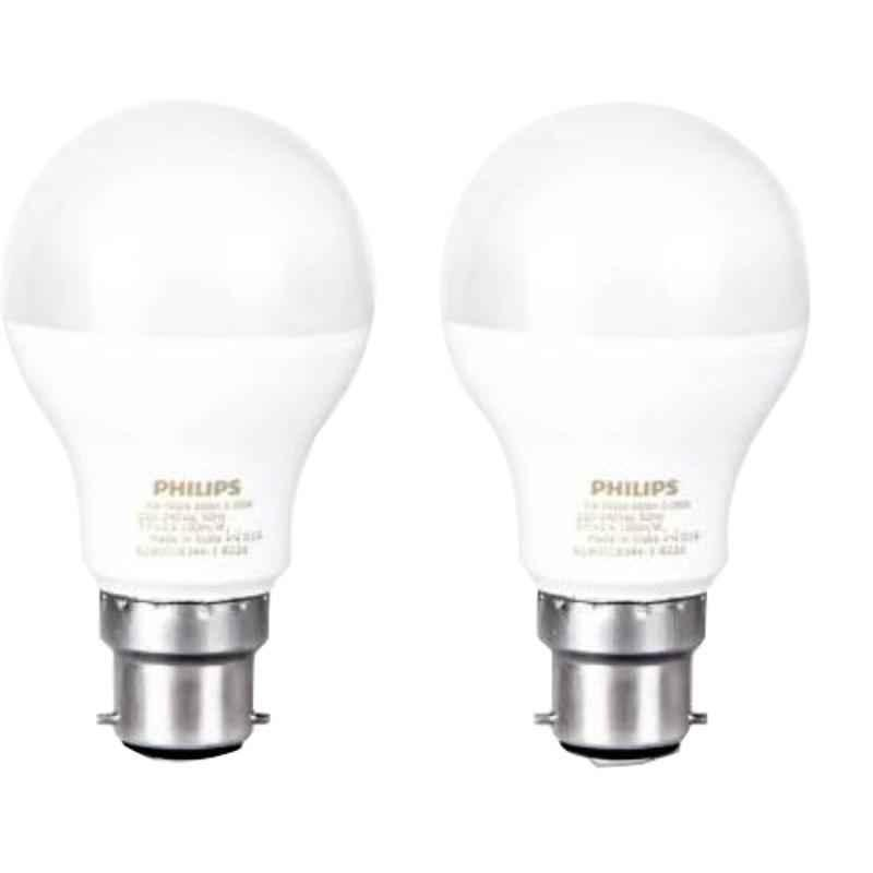 Philips 9W Cool Day White Standard B22 LED Bulb, 929001198422 (Pack of 2)