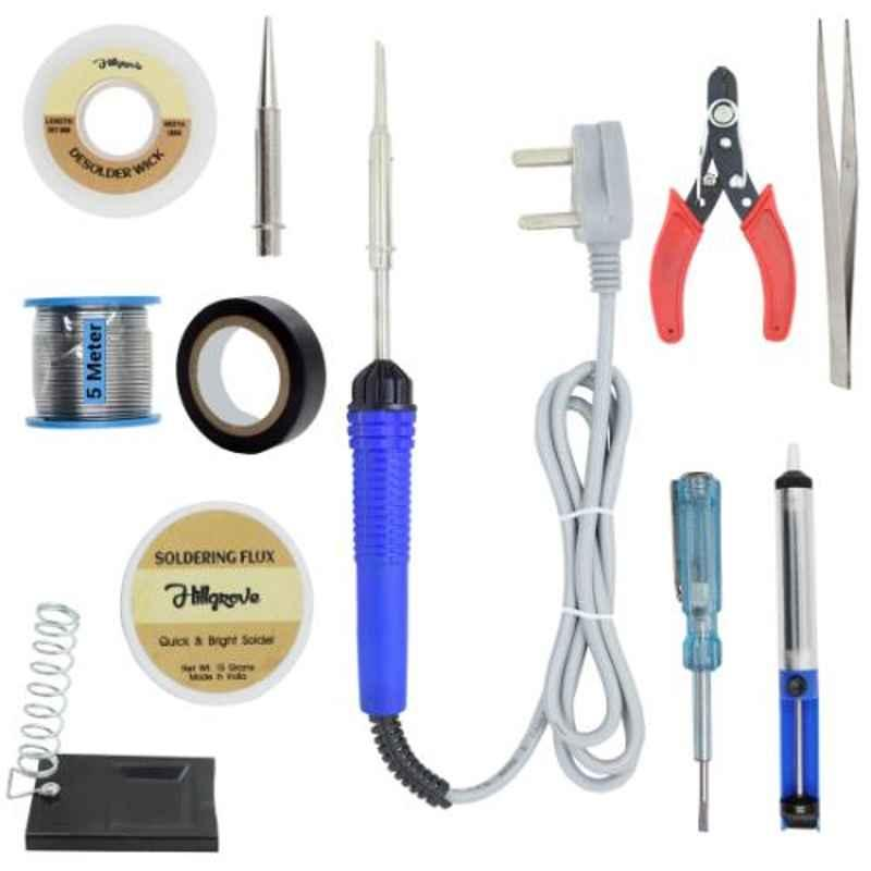 Hillgrove 11 in 1 Mobile Soldering Electronic Iron Kit, HG0061