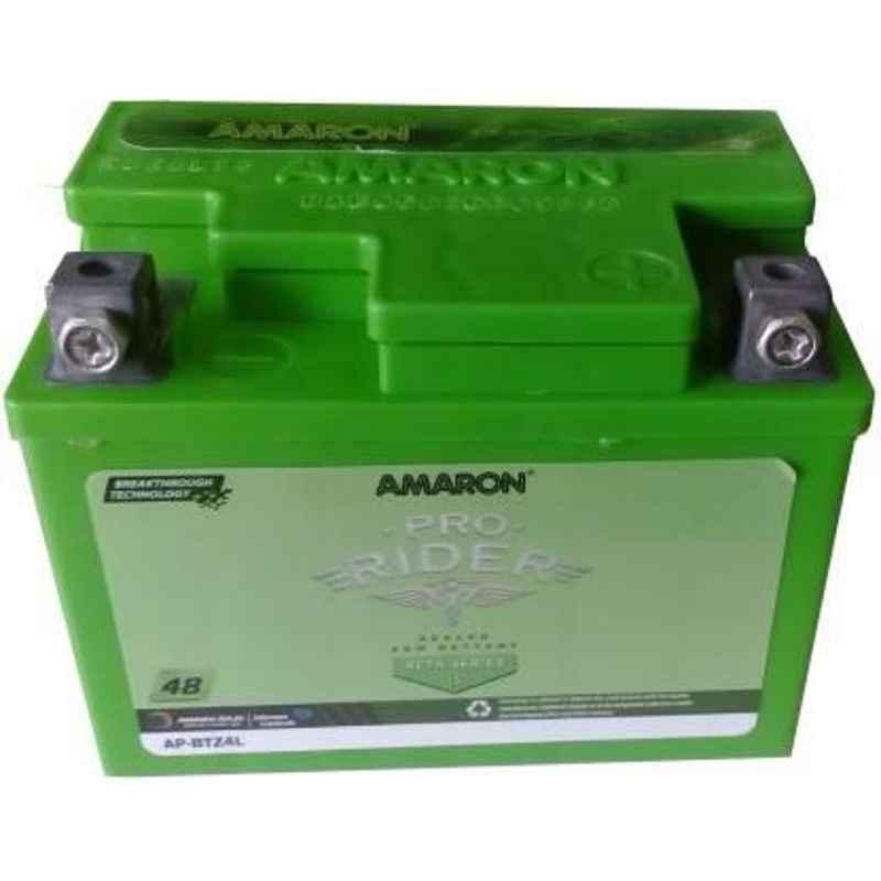 Amaron Beta Pro Rider 3Ah 12V Battery for Bike, AP-BTZ4L