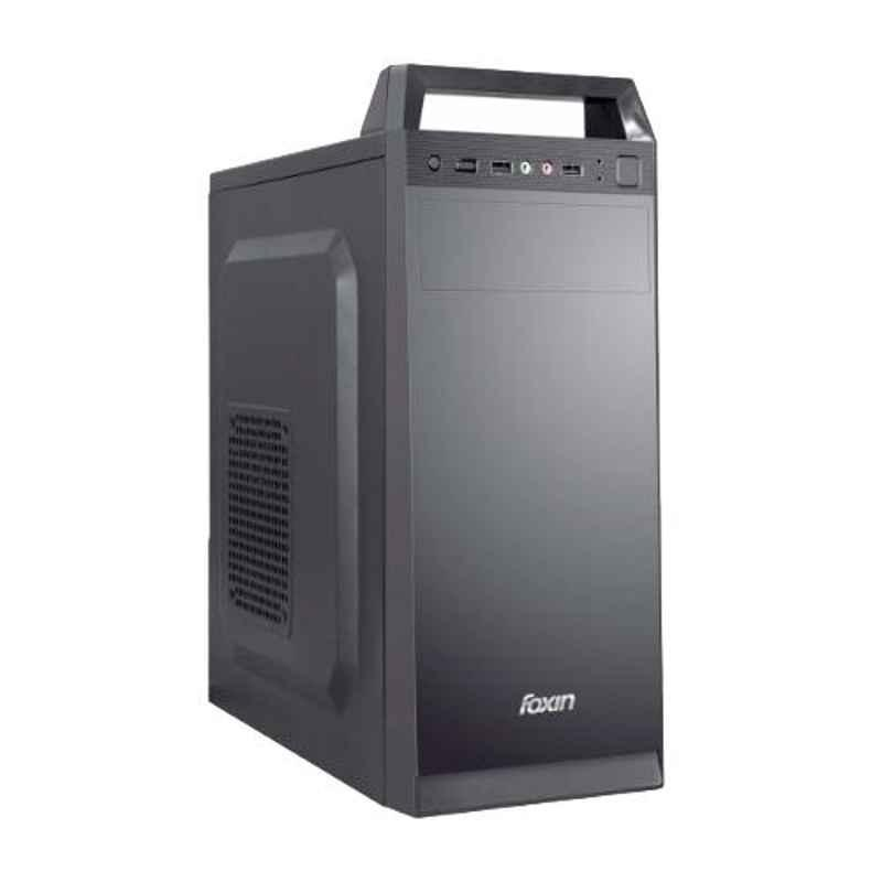 Foxin HANDY CLASSIC Black Mid Tower PC Cabinet with SMPS