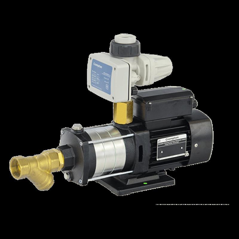 Crompton 1HP Pressure Booster Pump, CHM6D1.0B-48, Head: 12-32 m