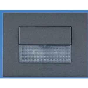 Anchor Penta 3 Module Cool Day Graphite Black LED Foot Light with Plate, 65705B (Pack of 6)