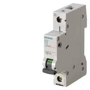 Siemens Betagard 6A Single Pole C Curve MCB, 5SL61067RC, Breaking Capacity: 7.5 kA