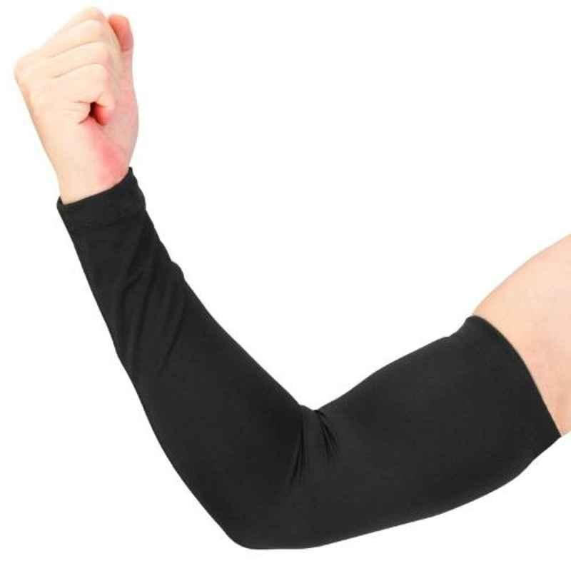 Just Rider Black Arm Sleeves for Men