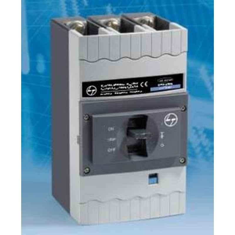 L&T Rated Curent 320A D Sine MCCB Rated Operating 415V, Pole 3, Breaking Capacity 35kW