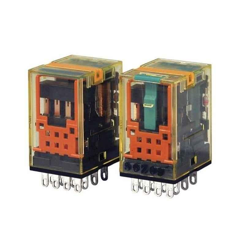 Idec 3A 24V AC 4PDT Bifurcated PCB Mount Relay, RU42V-NF-A24