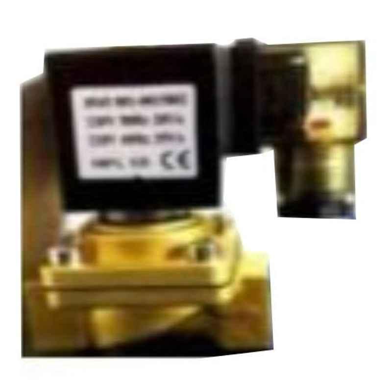 Aeroflex 1 inch 2/2 Brass Diaphragm Valve for Vacuum, PU-08