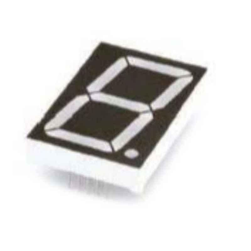 Oasistek 100 Pcs 1.2 inch Ultra Red Single Digit Display Module Set, TOS-12101