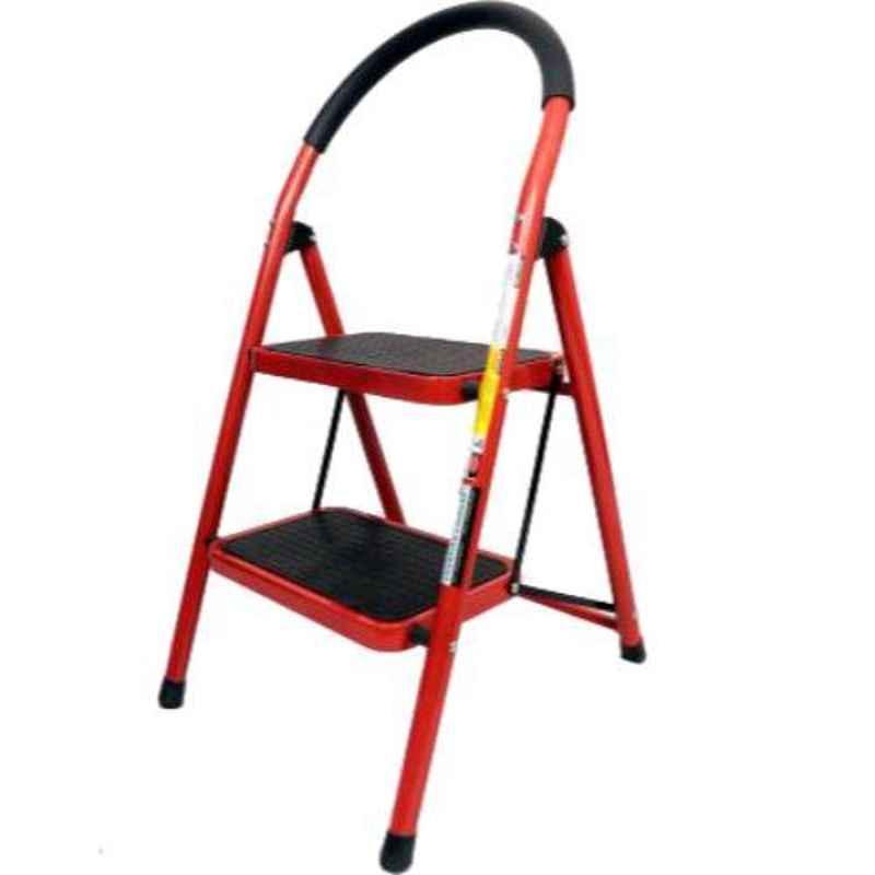 Champion 150kg 2 Step Steel Ladder with Platform, CHP202