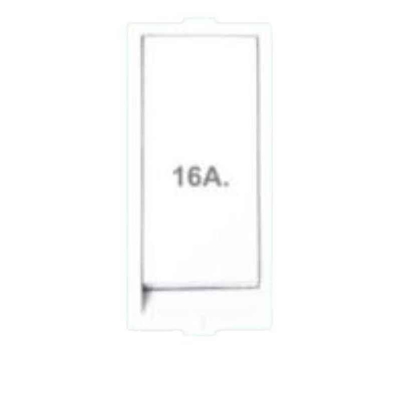 B-Five 16A 1 Way Flat Switch, B-4F (Pack of 20)