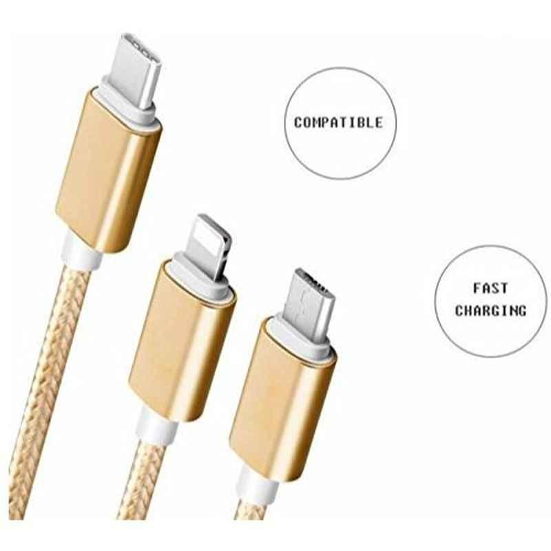 Infinizy Fibr 3-in-1 Cable