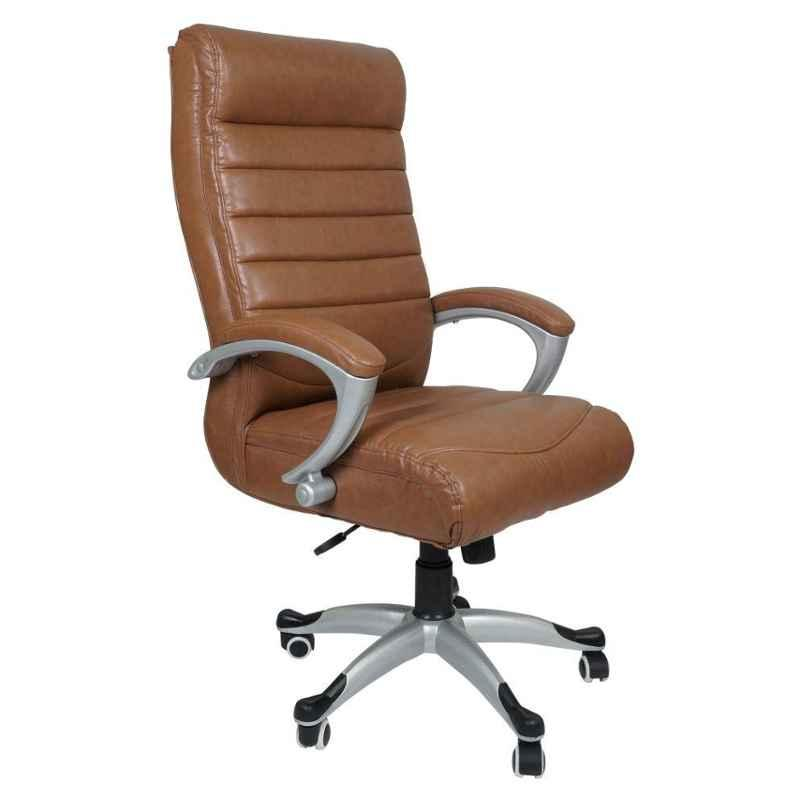Caddy PU Leatherette Adjustable Study Chair with Back Support, DM134 (Pack of 2)