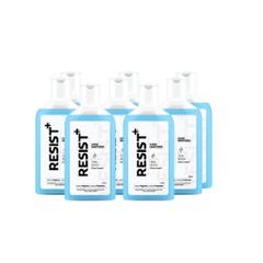 Resist Plus 120ml Ethyl Alcohol Based Hand Sanitizer (Pack of 8)