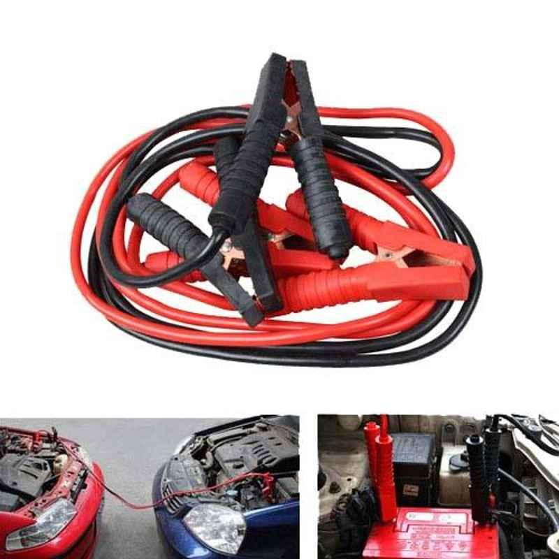 AllExtreme EXBCRB2 600A 2.21m Car Auto Battery Booster Jumper Cable Battery Storage Alligator Wire Clamp