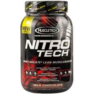 MuscleTech Nitrotech Performance Series 3.97lbs Milk Chocolate Whey Protein