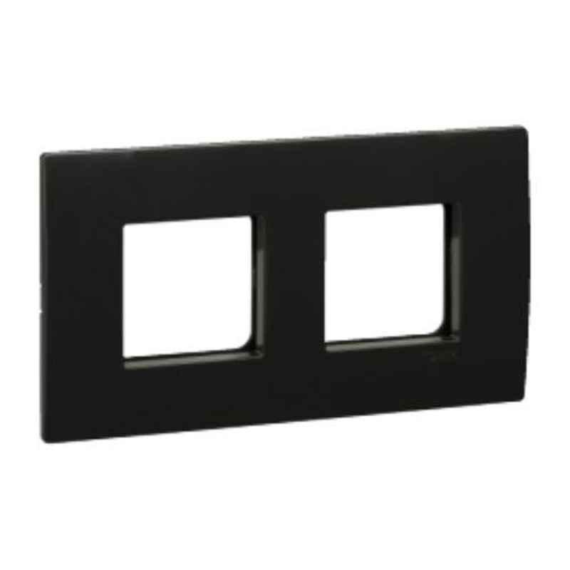Schneider Opale 4 Module Coke Grey Grid & Cover Plate, AAKY0804 (Pack of 10)