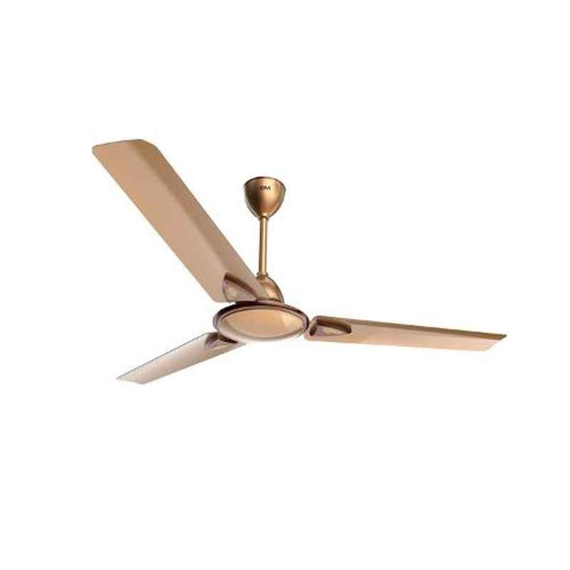 GM Nexa 75W Rose Gold Ceiling Fan, CFE480010RGMC, Sweep: 1200 mm