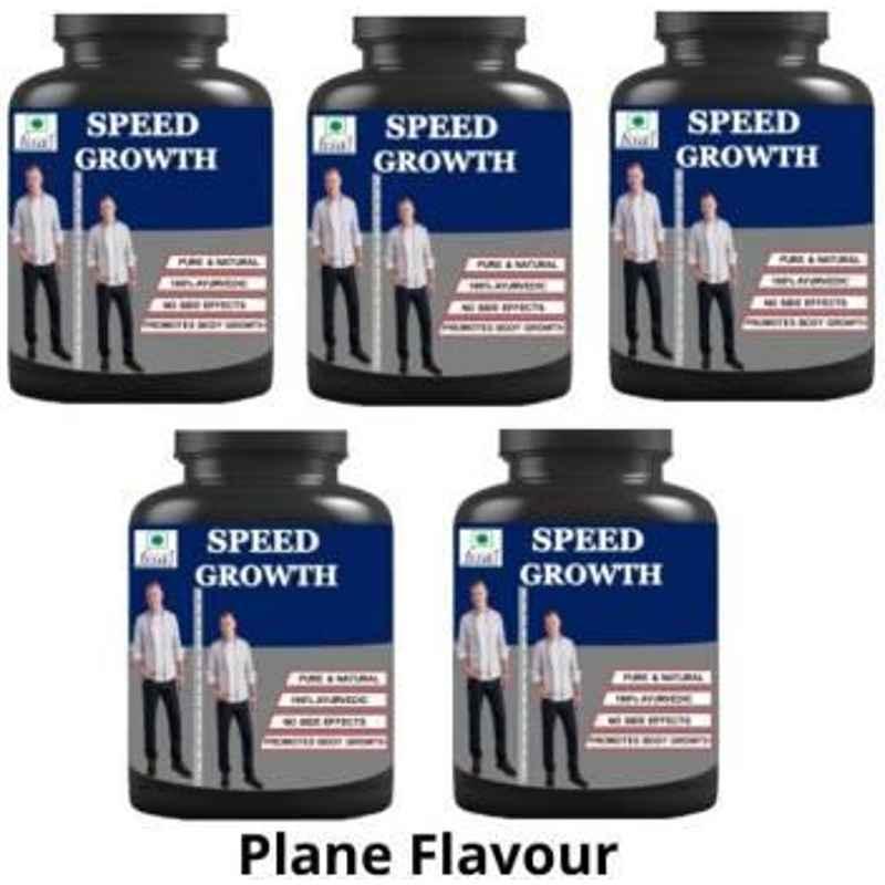Hindustan Ayurveda 100g Plane Speed Growth Height Supplement (Pack of 5)