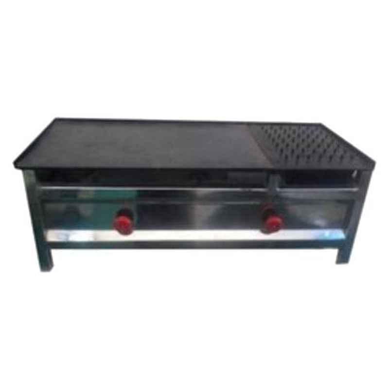 Shree Chamunda 51x12x26 inch Stainless Steel Chapati Bhathi