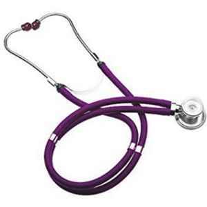 Shakuntla Pluss Rappaport Purple Dual Head Stethoscope Convertible Chest-Piece