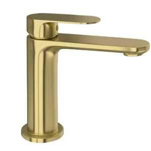 Jaquar Opal Prime Gold Dust Single Lever Basin Mixer with 450mm Braided Hose, OPP-GDS-15011BPM