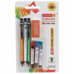 Camlin Tri Mech Pencils Set with Free Leads, 6800114 (Pack of 20)