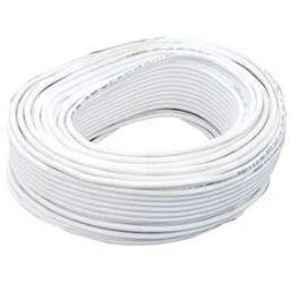 Finolex 90m 3 Plus 1 Core White CCTV Cable, 65913033