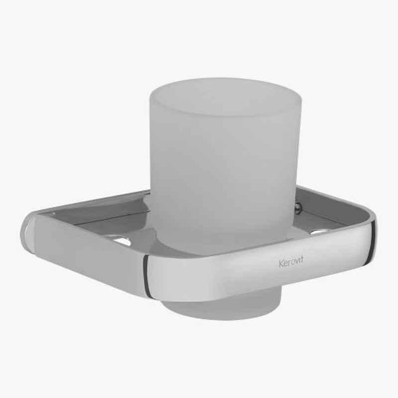 Kerovit Silver Chrome Convex Range Tumbler Holder, KA660007
