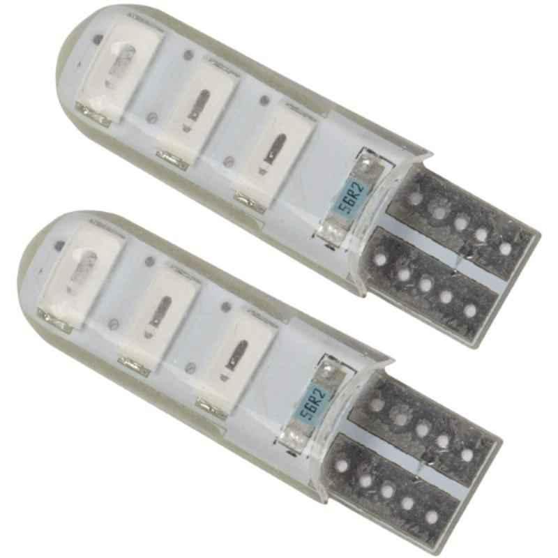 AllExtreme EXT10BL 2 Pcs 3W T10 6 SMD Blue LED Parking Light Set