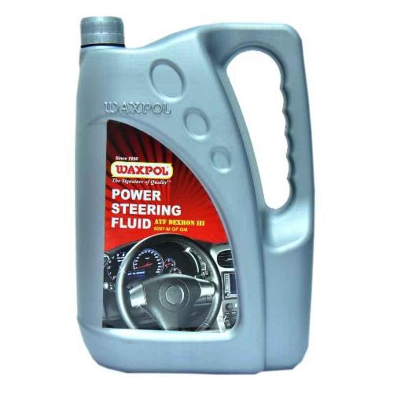 Waxpol Dexron-III 5L Power Steering Fluid, B42040