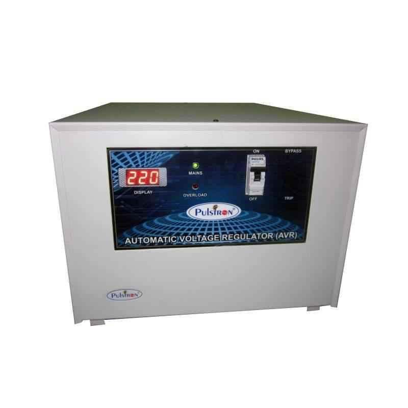 Pulstron 10KVA Main Line Single Phase Voltage Stabilizer