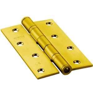 IPSA 5X3 inch 10 Gauge Stainless Steel Premium Riveted Ball Bearing Door Hinge, BBSL5, (Pack of 2)